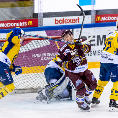 National League : Genève-Servette HC - HC Davos le 09/02/2021 (par Laurent Daspres)
