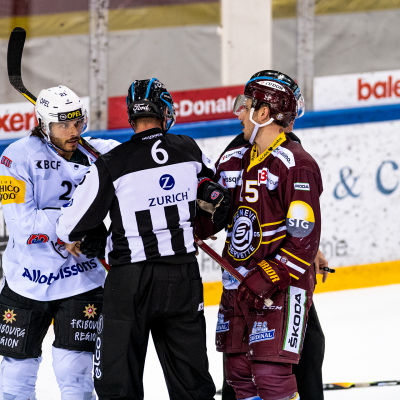 National League : Genève-Servette HC - HC Fribourg-Gottéron le 15/04/2021 (par Laurent Daspres)